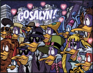 Sailor Moon and many others cameo in Darkwing Duck