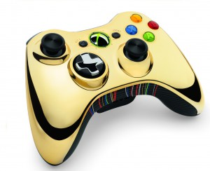 C3P0 Themed XBox 360 Controller