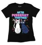 "Sailor Moon Shirts at Hot Topic - Cats Artemis and Luna ""We're Purrrfect Together"""