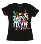 Sailor Moon Shirts at Hot Topic - The Sailor Team - Sailor Mercury, Sailor Jupiter, Sailor Moon, Sailor Mars and Sailor Venus