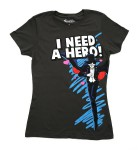 "Sailor Moon Shirts at Hot Topic - Tuxedo Mask ""I Need A Hero!"""