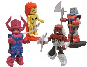 Marvel Minimates Herlads of Galactus box set