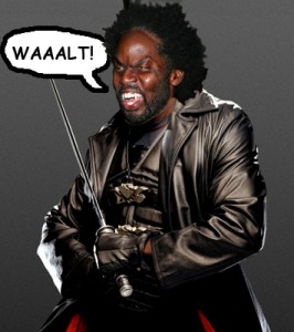 Harold Perrineau as Blade the Vampire Slayer