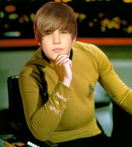 Make it so Star Trek Captain Justin Bieber