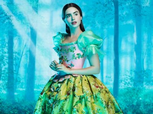 Mirror, Mirror starring Lily Collins as Snow White