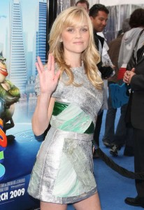 "Reese Witherspoon has never been in Star Trek, but she did the ""Live Long and Prosper"" sign once..."