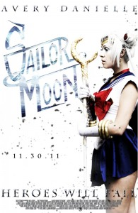 Sailor Moon The Movie fan film poster