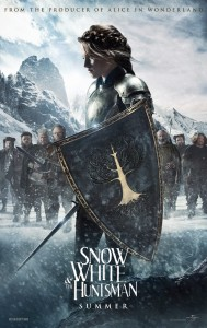 Snow White and the Huntsman starring Kristen Stewart as Snow White