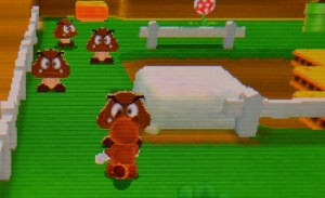 Super Mario 3D Land - Fake 2D Goombas