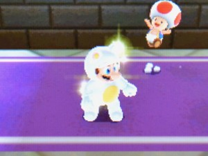 Super Mario 3D Land - Shiney Tanooki Mario