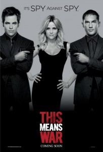This Means War starring Chris Pine, Reese Witherspoon and Tom Hardy