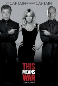 This Means War starring William Shatner, James T. Kirk, and Patrick Stewart, Jean Luc Picard