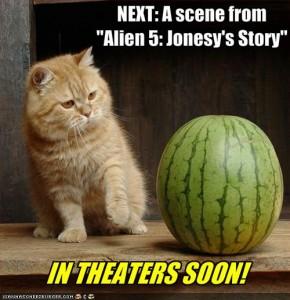 Alien 5: Jonesy's story