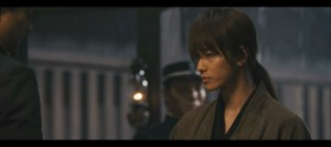Takeru Sato as Kenshin in the Live Action Rurouni Kenshin movies