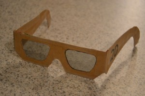Make your own 2D to 3D glasses