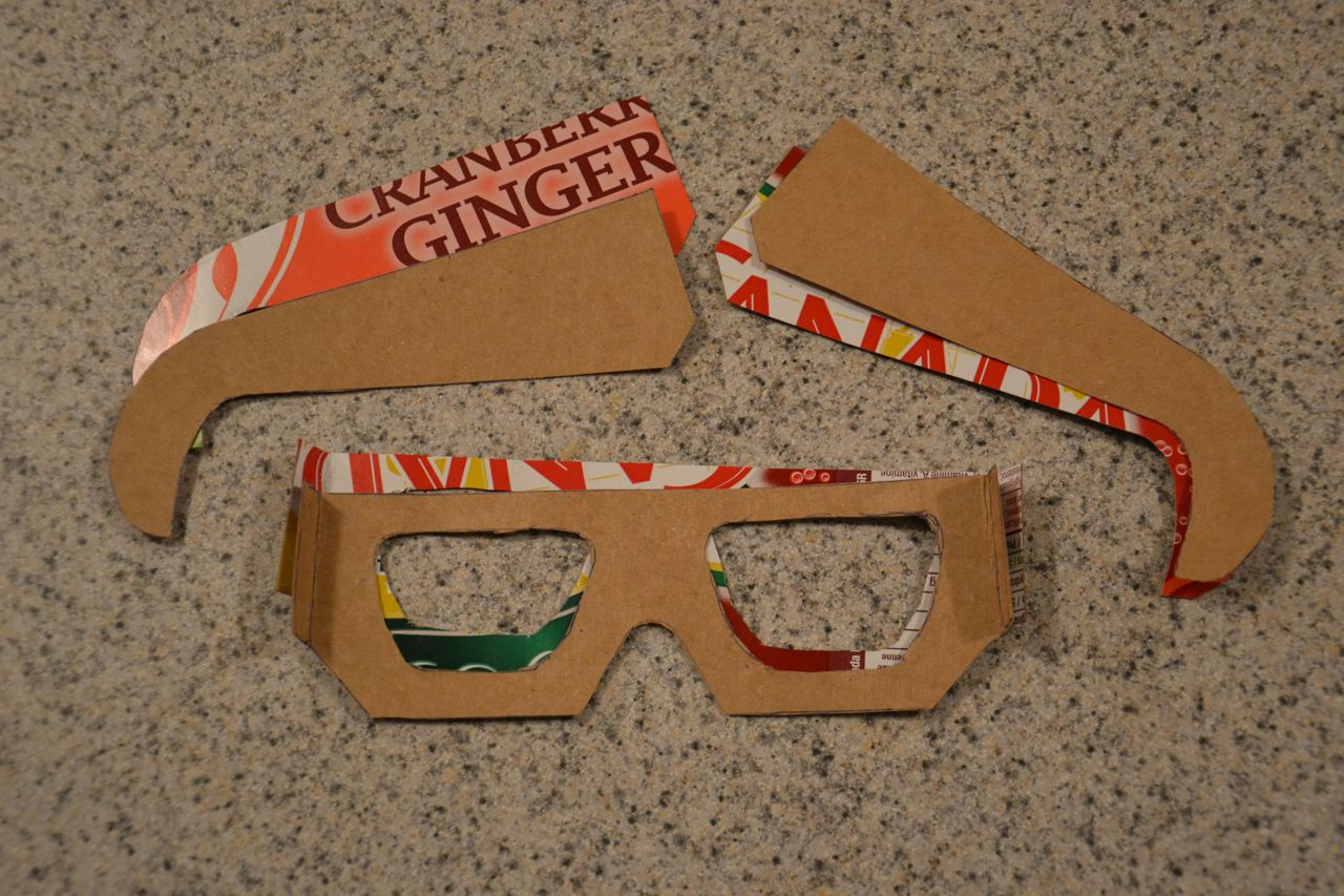 Make your own cheap 3d to 2d glasses powet tv games Make your own 3d shapes online