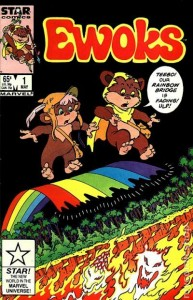 Ewoks comic issue #1 (1985) The Rainbow Bridge by Marvel Star Comics