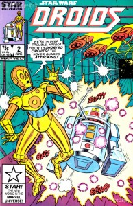 Star Wars Droids comic issue 2 Marvel Star Comics  - C-3PO and R2-D2