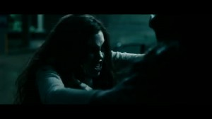 Underworld Awakening - India Eisley as Eve as a hybrid