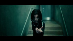 Underworld Awakening stupid 3D pin flying at the screen