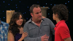 Wizards of Waverly Place - Who Will Be the Family Wizard? - Jerry Russo (David Deluise) gives Max Russo (Jake T. Austin) the Waverly Sub Station