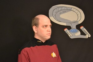 Adam as Jean-Luc Picard in Star Trek The Next Generation Blu-Ray Review