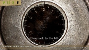 PlayStation Vita - Uncharted: Golden Abyss - Combination lock