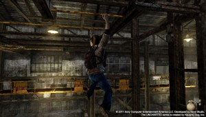 PlayStation Vita - Uncharted: Golden Abyss - Monkey bars