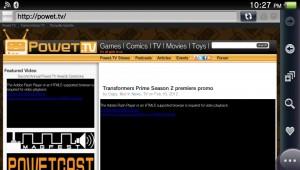 PlayStation Vita Web Browser is kind of useless