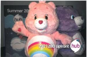 Cheer Bear and Share Bear at The Hub 2012-2013 Upfront