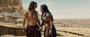 John Carter and Dejah Thoris from John Carter of Mars