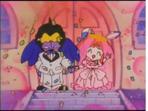Samurai Pizza Cats - Bad Bird marrying Princess Vi