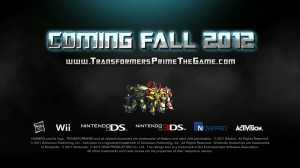 Transformers Prime The Game - Coming Fall 2012