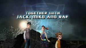 Transformers Prime The Game - Jack, Miko and Raf