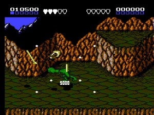 Battletoads - Punching an enemy in level 1 isn't bad