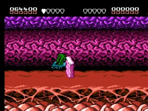 Battletoads - Stupid bike thing hits a wall