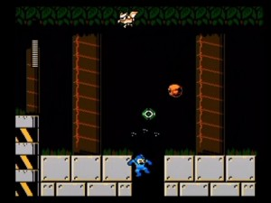 Mega Man 9 - Getting hit and falling into a hole