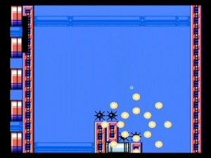 Mega Man 9 - Hitting some spikes