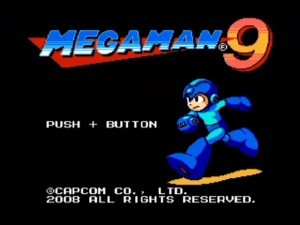 Mega Man 9 - Title screen