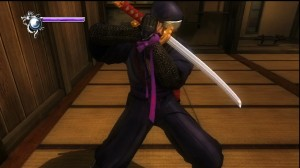 Ninja Gaiden Sigma - Ninja dog mode wearing Ayane's band of strength