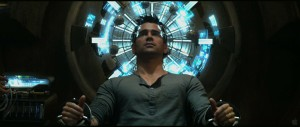 Total Recall - Collin Farrell as Doug Quaid getting his mind whipped