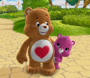 Care Bears Welcome to Care-A-Lot - Tenderheart Bear and Wonderheart Bear