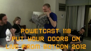 "Destroying The Allspark - Powetcast 118: ""Put Your Doors On"" - Live from Botcon 2012"