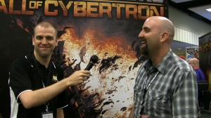 Powet at Botcon 2012 - Adam Gardner interviewing Matt Tieger about Transformers: Fall of Cybertron