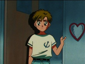 Sailor Moon episode 110 - A rare appearance by Shingo in Sailor Moon S