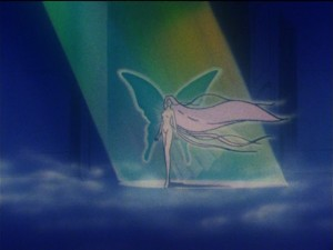 Sailor Moon episode 110 - Usagi appears to be the Messiah