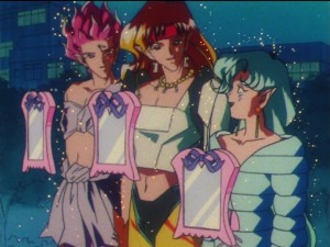 Sailor Moon episode 149  - The Amazon Trio with Mirrors of Dreams