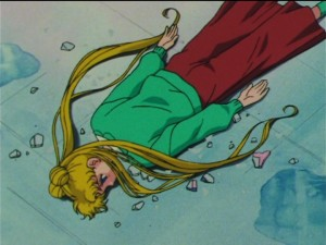 Sailor Moon episode 149  - Usagi without a mirror of dreams