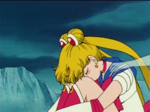 Sailor Moon episode 45 - Sailor Moon mourns her friends' deaths and is touched by the ghost of Sailor Jupiter