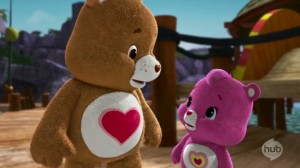 Care Bears Welcome to Care-a-Lot - Compassion -- Not! - Tenderheart Bear and Wonderheart Bear